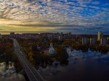 Cidade Sestroretsk Imagens de Stock Royalty Free
