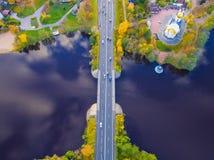 Cidade Sestroretsk Fotos de Stock