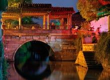 Cidade Shanghai de Fengjing Foto de Stock Royalty Free
