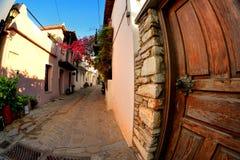 Cidade Skyathos Fotografia de Stock Royalty Free