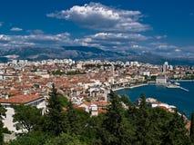Cidade - Split Imagem de Stock