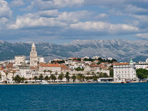 Cidade - Split Foto de Stock Royalty Free