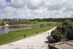 Cidade-Stadt-Park in Porto Lizenzfreie Stockfotos