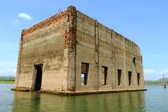 Cidade subaquática Foto de Stock Royalty Free