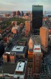 Cidade Sunglow Foto de Stock Royalty Free