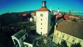 Cidade superior Zagreb - antena filme