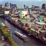 Cidade Tailândia de Banguecoque Fotos de Stock