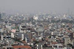 Cidade tornando-se Imagens de Stock