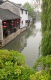 Cidade tradicional em China Foto de Stock