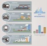 Cidade. Transporte Fotografia de Stock Royalty Free