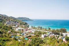 Costa tropica da recreação Foto de Stock Royalty Free