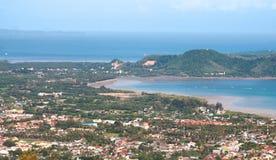 Costa tropica da recreação Fotografia de Stock Royalty Free