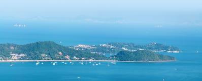 Costa tropica da recreação Imagem de Stock