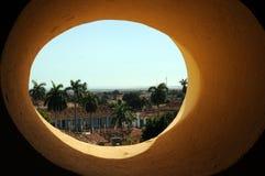 Cidade tropical magnífica fotografia de stock royalty free