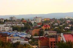Cidade Truskavets imagem de stock royalty free