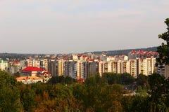 Cidade Truskavets fotografia de stock royalty free