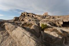 Cidade Uplistsikhe da caverna. Imagem de Stock Royalty Free