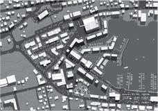 Cidade urbana Fotografia de Stock Royalty Free