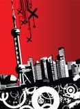 Cidade urbana Imagem de Stock Royalty Free