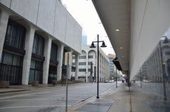 Cidade vazia de Dallas, luz foto de stock royalty free