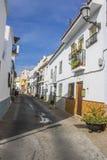 Cidade velha Alhaurin de la Torre, Malaga Fotografia de Stock Royalty Free
