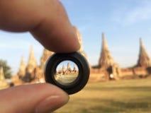 A cidade velha Ayutthaya Foto de Stock