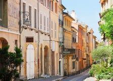 Cidade velha bonita de Provence fotografia de stock