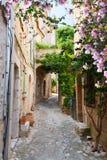 Cidade velha bonita de Provence imagens de stock royalty free