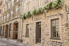 Cidade velha Cidade de Quebec Foto de Stock Royalty Free