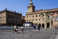 Cidade velha da Bolonha Foto de Stock Royalty Free