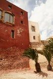 Cidade velha da Espanha baleárica de Ibiza Fotos de Stock Royalty Free