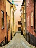 Cidade velha de Éstocolmo Fotografia de Stock Royalty Free