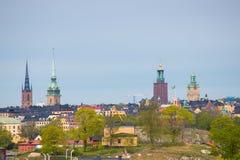 A cidade velha de Éstocolmo Imagem de Stock Royalty Free
