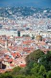 Cidade velha de agradável, France Foto de Stock