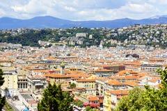 Cidade velha de agradável, France Imagem de Stock Royalty Free