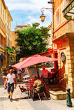 Cidade velha de Aix en Provence, França Foto de Stock Royalty Free