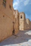 Cidade velha de Al Hambra, Omã fotos de stock