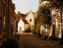 A cidade velha de Amersfoort Fotografia de Stock Royalty Free
