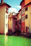 Cidade velha de Annecy Imagens de Stock Royalty Free