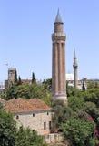 A cidade velha de Antalya fotos de stock royalty free