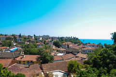 Cidade velha de Antalya Imagens de Stock Royalty Free