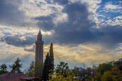 Cidade velha de Antalya, cidade velha de Antalya Fotos de Stock Royalty Free