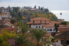 Cidade velha de Antalya, cidade velha de Antalya Fotografia de Stock