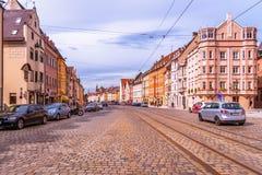 Cidade velha de Augsburg Fotografia de Stock
