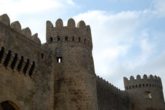 Cidade velha de Baku Fotos de Stock Royalty Free