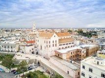 Cidade velha de Bari, Puglia, Itália Fotografia de Stock