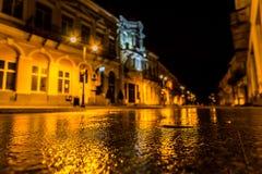 Cidade velha de Botosani fotos de stock royalty free