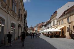 Cidade velha de Brasov em Romênia Fotografia de Stock Royalty Free