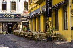 Cidade velha de Bucareste fotos de stock royalty free