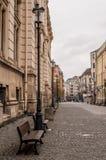 Cidade velha de Bucareste Fotografia de Stock Royalty Free